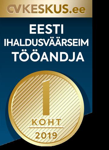Eesti ihaldusväärseim tööandja 2019