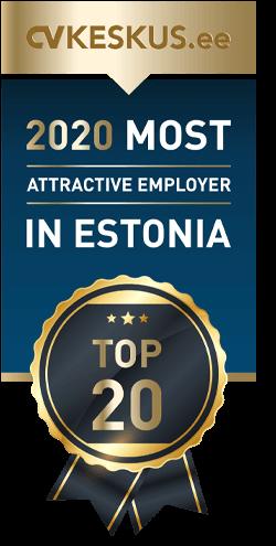 Eesti ihaldusväärseim tööandja 2020