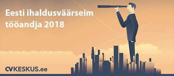 Eesti ihaldusväärseim tööandja 2018