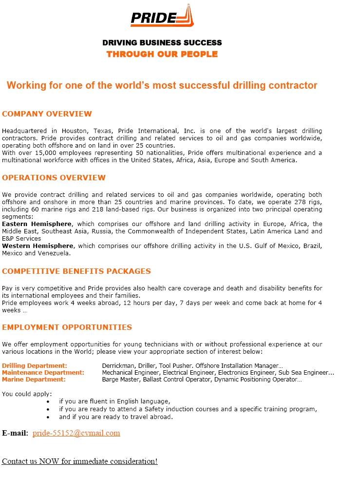 CV Keskus tööpakkumine Working for one of the world's most