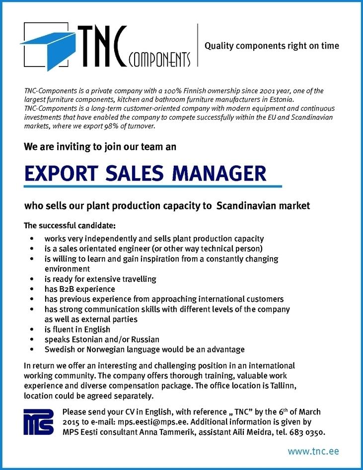 export sales resume sales sales 28 images