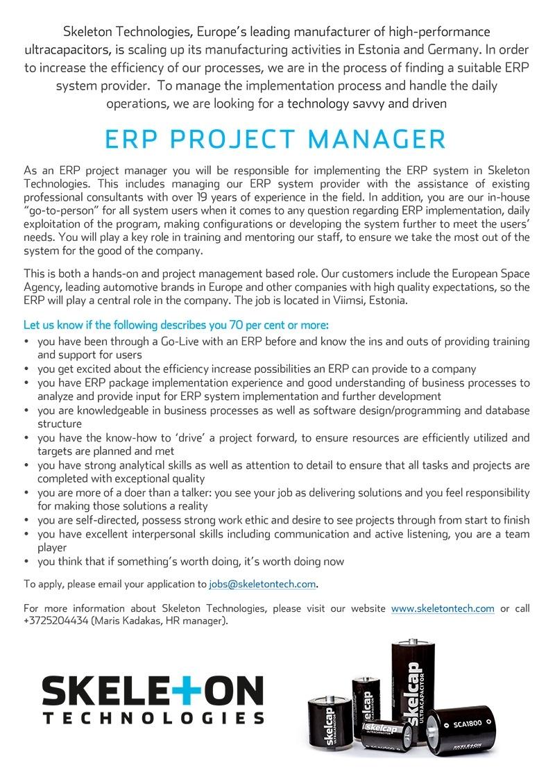 erp administrator sle resume sle cover letter for