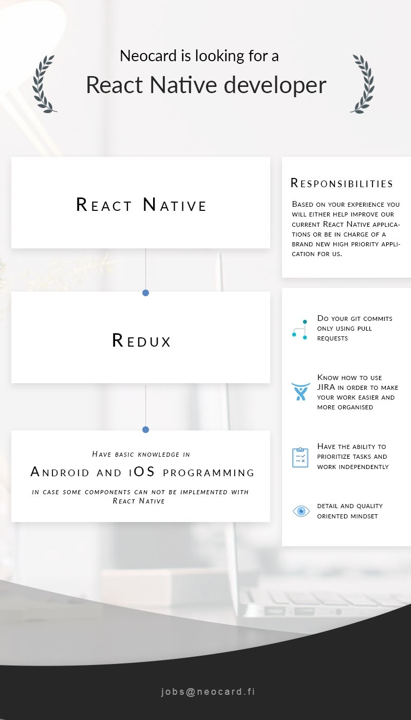 Firma nimi peidetud React Native developer