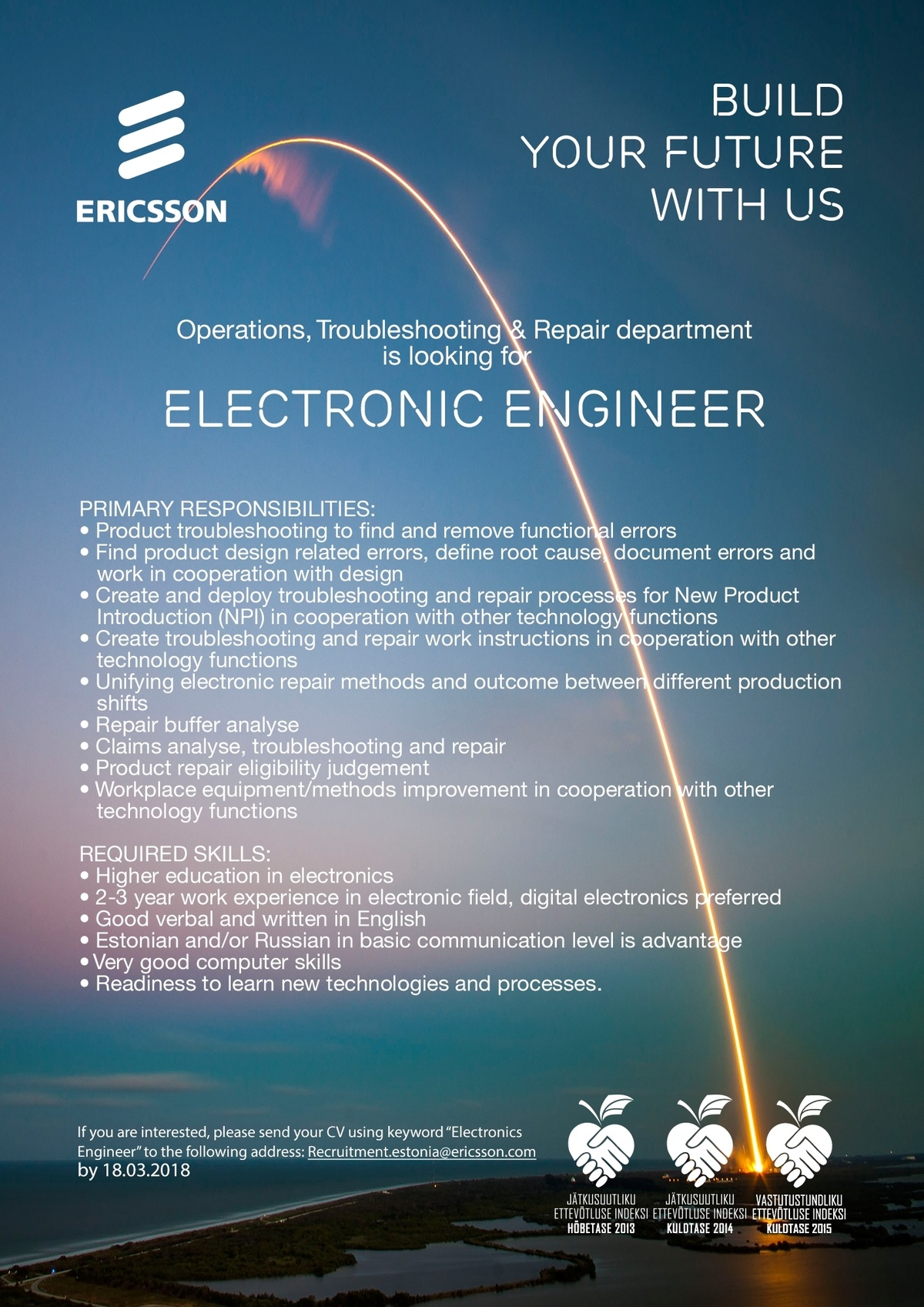 CVKeskus.ee client Electronics Engineer