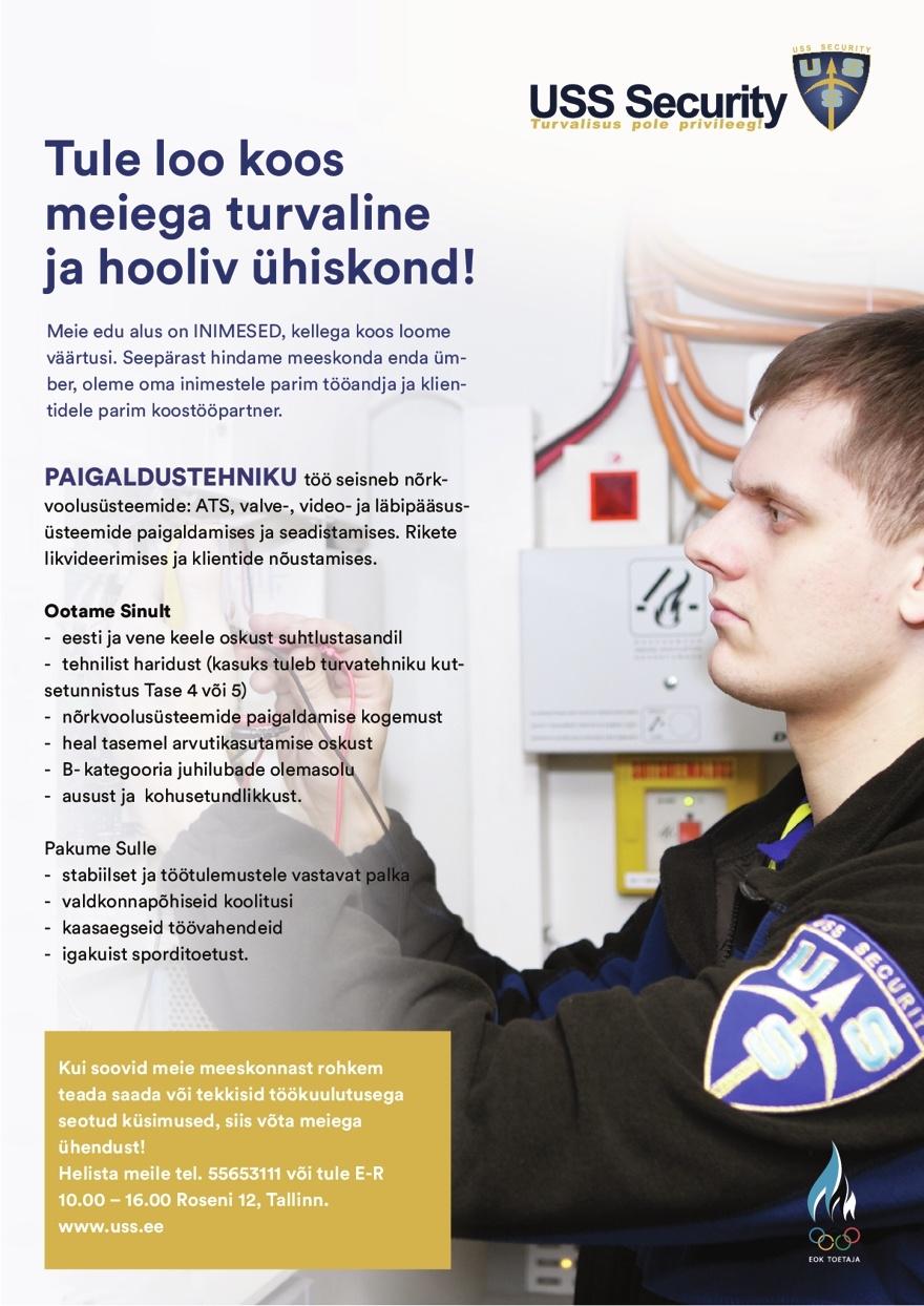 05a2badf8d0 CV Keskus tööpakkumine Turvatöötaja Olümpia Hotelli