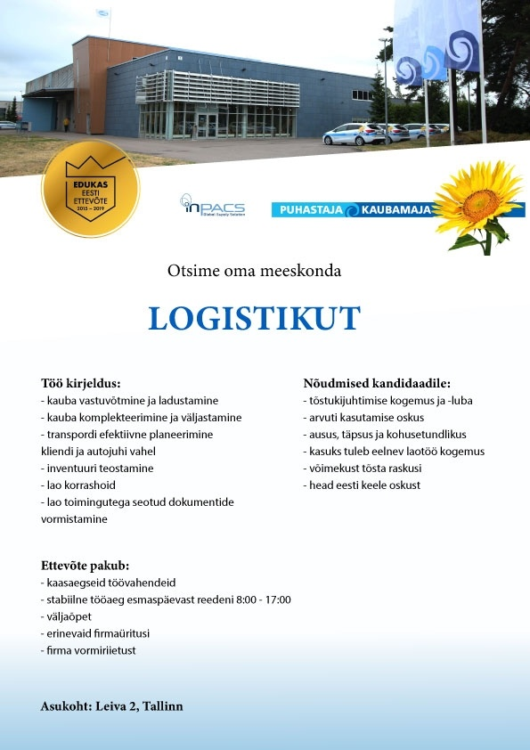Ebeta AS logistik