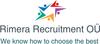 RIMERA RECRUITMENT OÜ tööpakkumised